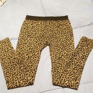Fun leopard leggings